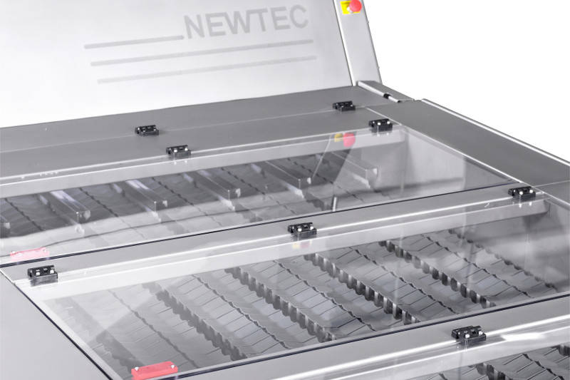 Top view of Newtec spinaflex system